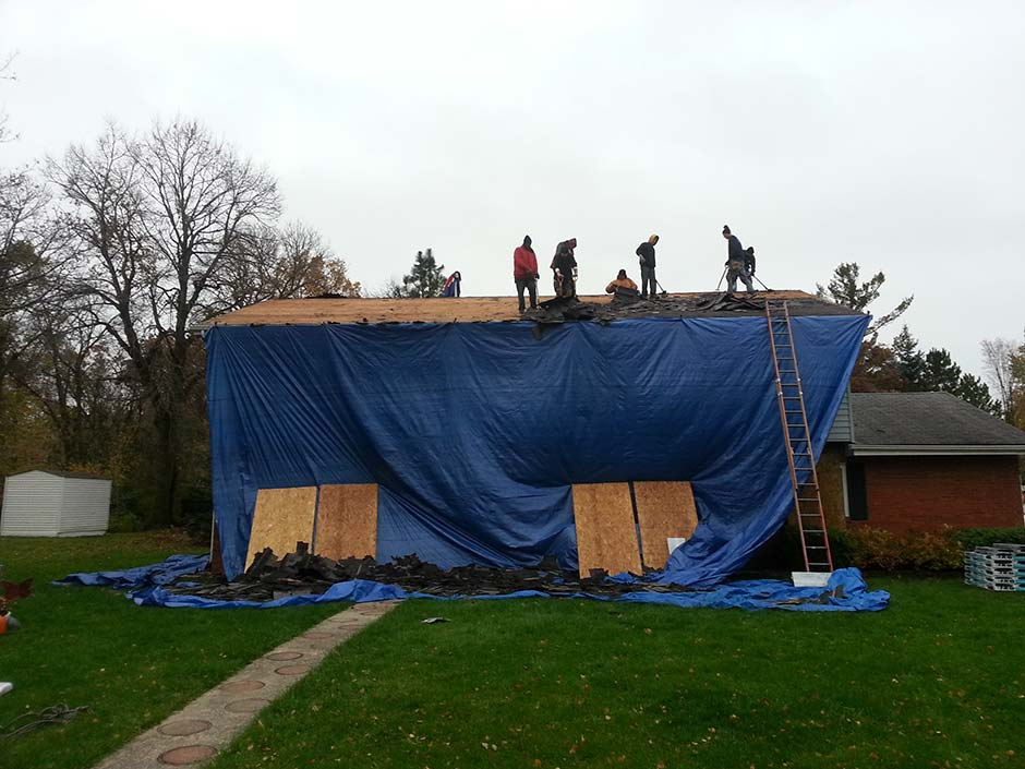 House Re-Roofing Waukesha
