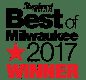 Best of Milwaukee 2017 award logo.
